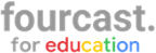 Fourcast for Education Logo-kleur