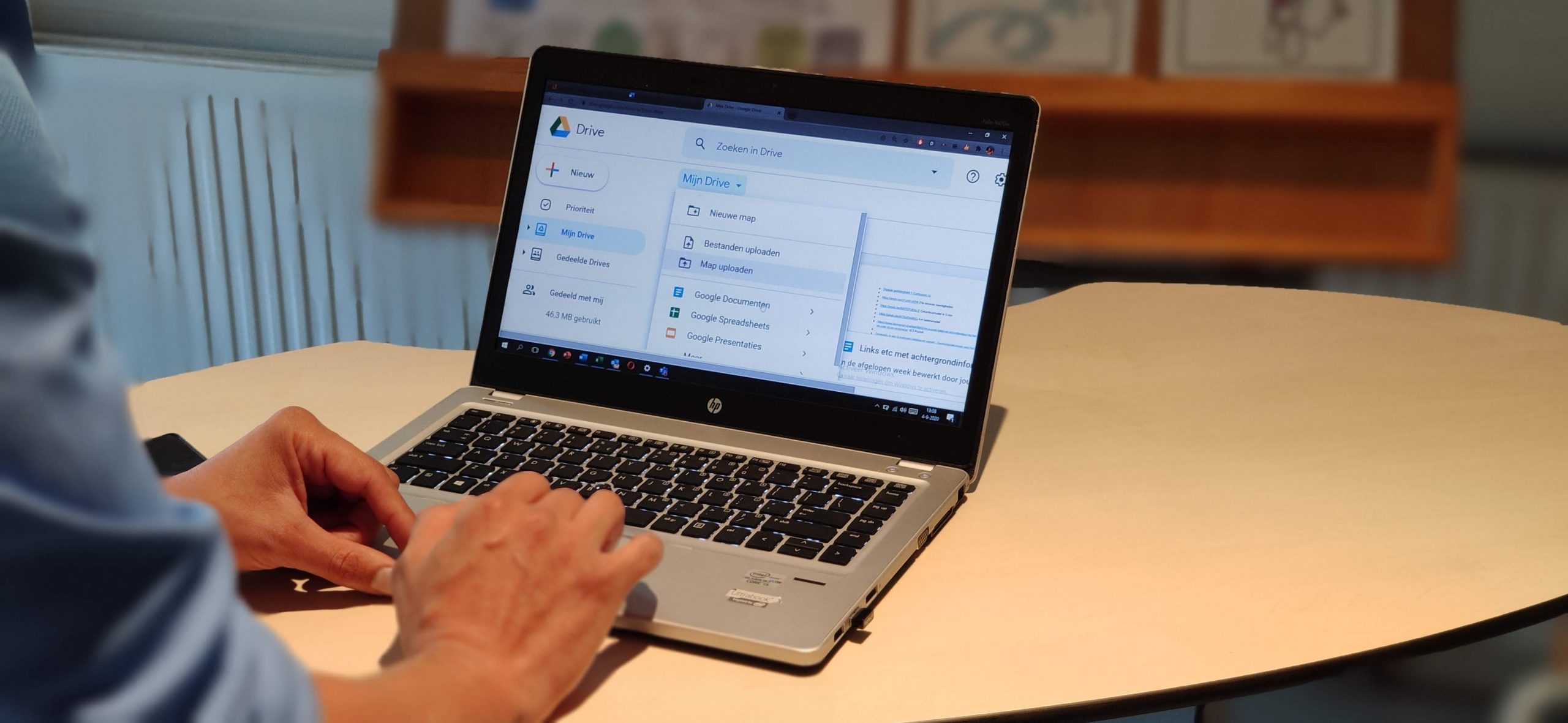 Google Drive – Samenwerken en delen